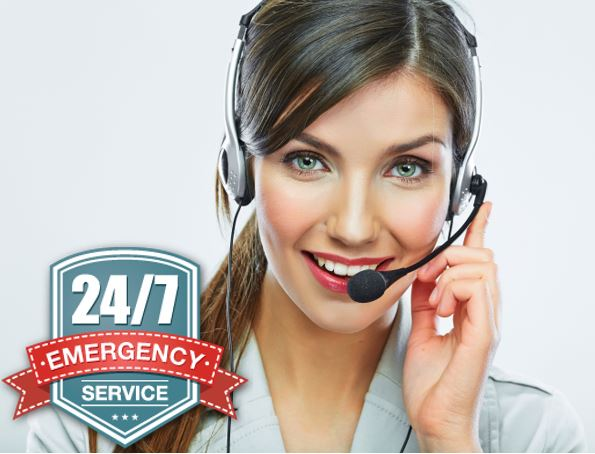 24 hours 7 days a week emergency service